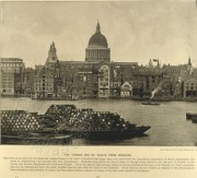 The Thames and St Paul's from Bankside