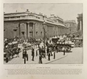 The Bank of England in Threadneedle Street, London