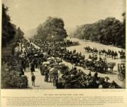 The Drive and Rotten Row, Hyde Park, London