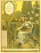 Catalogue cover for Belle Jardiniere, May Issue