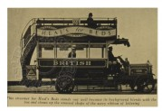 Publicity Bus for Heal's Beds