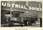 The First Steam Wagon