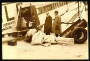 Removing Mail at Croydon Airport