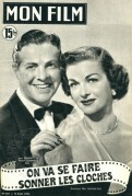 Joan Bennett and Robert Cummings