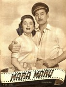 Errol Flynn and Ruth Roman