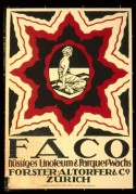 Poster for FACO Lino and Parquet Flooring