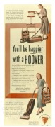 Advert for Hoover
