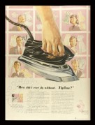 Advert for TipToe Irons