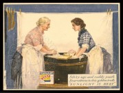 Advert for Sunlight Soap