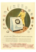 Advert for Westinghouse Laundromat