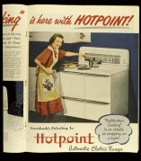 Advert for Hotpoint Cookers