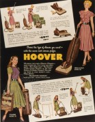 Advert for Hoover Vacuum Cleaners
