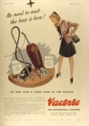 Advert for Vactric Vacuum Cleaners