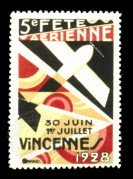 Vincennes Air Show Poster, France
