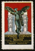 Fascist Poster Stamp for National Exhibition