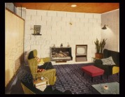 1950s Open Plan Living Room