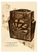 Catalogue illustration of a radio set