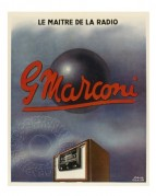 Advert for 'The Master of Radio', Marconi