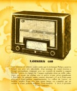 French advert for the Loisirs 480 radio