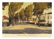 Architects Illustration for Acacia Road, Bourneville