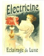 French poster for Luxury Electric Lighting