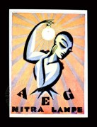 Poster for AEG Nitra Lampe