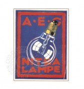 Advert for AEG Nitra Lampe
