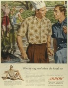 Advert for 'Arrow' Sports Shirts