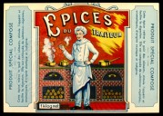 Label for Epices du Traiteur spices