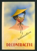 French relaxation leaflet, one of a series of four