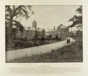 Photograph of Claybury Asylum in Woodford, Essex
