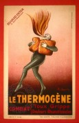 Advert for Thermogene, a treatment for flu, coughs and rheumatic pain