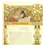 A page illustration for Covadonga, a Spanish village
