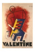 Advert for Valentine Paint