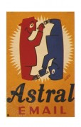 Advert for Astral Enamel Paint