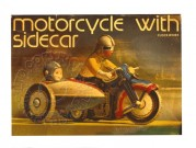 Box lid for Clockwork Motorcycle with Sidecar