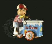 Clockwork Ice-Cream Seller and Bike