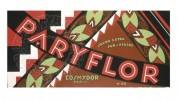 Label for Paryflor Soap