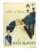Advert for Bourjois Perfume