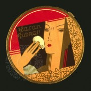 Box lid for Hasan Pudrasi face powder