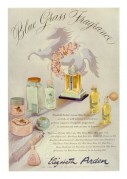 Advert for Elizabeth Arden 'Blue Grass' Fragrance