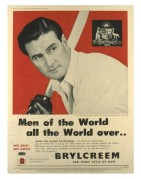 Advert for Brylcreem
