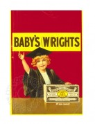 Label for Wrights coal tar soap