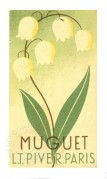 Label for Muguet Perfume