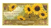 Label for Golden Sunflower soap