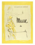 Advert for Muse du Coty