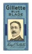 Gillette Blue Blade packaging