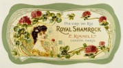 Label for Royal Shamrock Face Powder