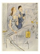 Advert for 'Paris' , perfume for young ladies