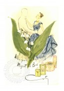 Advert for Muguet des Bois du Coty